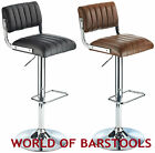 apollo bar stool - RETRO APOLLO BAR STOOL IN BROWN OR BLACK