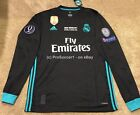 2017/18 Real Madrid Away Kit- UEFA Supercup Final edition Jersey- Long sleeve