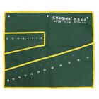 Spanner Wrench Canvas Pocket 8/10/14/20 Pouch Roll Up Tool Storage Bag Organizer