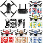 Waterproof Decal Skins Wrap Sticker Body/Battery/Remote Protector For DJI Spark