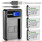 Kastar Battery LCD Charger for Fujifilm NP-45 NP-45A FinePix JX400 FinePix JX405