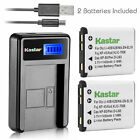 Kastar Battery LCD Charger for Fujifilm NP-45 NP-45A NP-45B NP-45S & Fuji MH-63