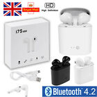 HBQ-i7S Twins Wireless Headset Bluetooth Earphone Stereo Earbud For iPhone X 7 6