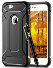 For iPhone X 8 7 6s Plus Case Hybrid Armor Shockproof Rugged Bumper Back Cover
