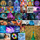 5D DIY Peacock Butterfly Full Drill Diamond Painting Cross Stitch Kit Home Decor