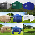 Outside Pop Up Gazebo Marquee Tent Wedding Party Canopy Blue/Green/White/Beige