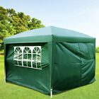 Heavy Duty 2x2m 3x3m Waterproof Pop Up Gazebo Wedding Party Tent with Sides