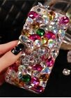 NEW DELUX COOL LUXURY BLING SILVER PINK DIAMANTE CASE FOR VARIOUS MOBILE PHONE