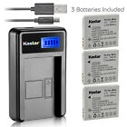 Kastar Battery LCD Charger for Canon NB-4L NB-4LH Canon Digital IXUS 70 IXUS 75