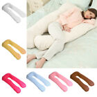 9Ft/12Ft U Pillow Body/Bolster Support Maternity Pregnancy Support Pillow/Case