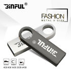 BiNFUL mini pen drive silver metal pendrive USB 20 Memory Stick USB Flash Drive