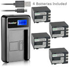 Kastar Battery LCD Charger for Canon NB-2L24 & Canon PowerShot S45 PowerShot S50