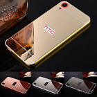 Aluminum Metal Frame Mirror Back Case For HTC Huawei P9 Lite Vivo Oppo R11 Meizu