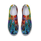 Random Watercolor Painting Loafers Mens Casual Shoes Convenient Slip on Shoes