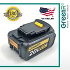GreenR3 For DEWALT DCB204 Max XR 4.0Ah Lithium-Ion Battery 20 Volt 4000mAh