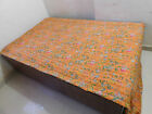 ATITHIHUBS Cotton Indian Kantha Bed Cover Handmade Reversible. 61