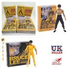 UK 14cm SHF Kung Fu Bruce Lee S.H.Figuarts Movable Action Figure PVC Toys Gifts