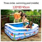 Inflatable Swimming Pool Family Kids Baby Large Water Play Center Outdoor Fun