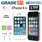 Apple iPhone 4S 8GB 16GB Factory Unlocked Sim Free Smartphone - Grade A+ US