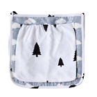 Baby Bed Hanging Organizer Bag Diaper Nappy Buggy Storage Plain 100% Cotton