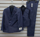 Boys Young Kings by Steve Harvey $120 3pc Navy Suit Size 8 - 20