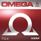 XIOM OMEGA 2 ASIA Rubber Sponge For Table Tennis Ping Pong Racket Paddle_Rd