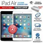 New & Sealed Box APPLE iPad Air 2nd Gen Black White Retina PC Tablet (WiFi Only)