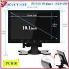 "7"" 10"" 10.1"" LCD CCTV PC Monitor Screen AV/RCA/VGA/HDMI for DSLR Raspberry PI"