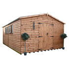 Shedrite  GROUNDSMAN EXTRA  LARGE HEAVY DUTY WOODEN WORKSHOP  19mm log lap