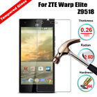 Ultra Clear Tempered Glass 9H Hardness Phone Screen Protector Guard Film For ZTE