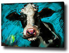 COW ART PAINTING PRINT WALL ART POSTER GIFT CANVAS LARGE SIZES