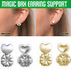 Pure Silver Magic Bax Earring Backs Lifters Firmly Supports Lifts Fit Jewelry !