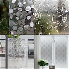 Stained Glass Brick Covering Privacy Window Film Cling Waterproof Static Decor