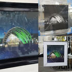 Glasgow SECC scenery with liquid art, crystals & mirror/black pictures