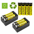 18650 Battery 5000mAh Li-ion 3.7V Rechargeable Batteries for LED Flashlight USA