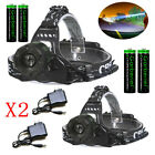 Kyпить 90000LM Zoomable Headlamp T6 LED Headlight Flashlight +Charger+18650 Battery US на еВаy.соm
