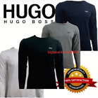 Hugo boss Long Sleeve Crew Neck T-shirt & Other Brand T- shirt For Men on Sale!!