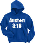 "Auston Matthews Toronto Maple Leafs ""Auston 3:16"" HOODIE HOODED SWEATSHIRT $29.99 USD on eBay"