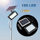 Waterproof 54/150 LED Solar Power Sensor Motion Wall Light Outdoor Garden Lamp