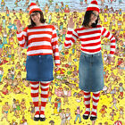 Adult Searching Game Where's Waldo? Wenda Costume Kit