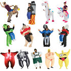 nflatable Costumes Adult Halloween Fancy Dress Funny Scary Alien Skeleton Sumo