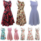 50s attire for women - Vintage 50s 60s Retro Style Rockabilly Pinup Housewife Party Swing Floral Dress