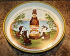 "Vintage STEGMAIER BREWING COMPANY Beer tray 13"" ""Cold and Gold"" 1959 Poconos"
