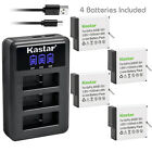 Kastar Battery LCD Triple USB Charger for GoPro AHDBT-601 GoPro Hero 6 HD Black