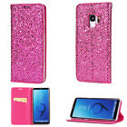 Luxury Glitter Flip Bling Wallet Leather Card Stand Case For Samsung Note 8/S9+