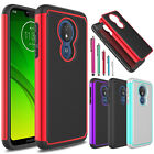 For Motorola Moto E5 Play/Cruise Shockproof Hybrid Slim Armor Phone Case Cover