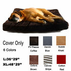 Large Dog Bed Cover Washable Replacement Small Pet Cat Cushion Removable