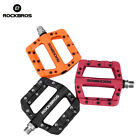 ROCKBROS Cycling MTB Wide Pedals Sealed Bearing Nylon Bicycle Pedals New 3 Color