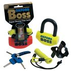 New Genuine Oxford Boss Tough and Reliable Disc Lock