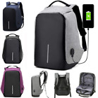 Anti Pilfering Smart School College Travel Backpack Safe Bag USB Charging Laptop